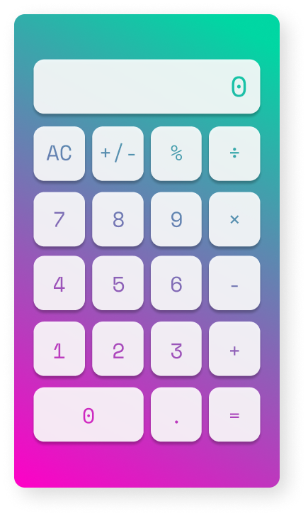 Daily-UI-009-Calculator